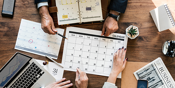 A agenda deve ser sua companheira de todas as horas para poder manter a organização pessoal e profissional