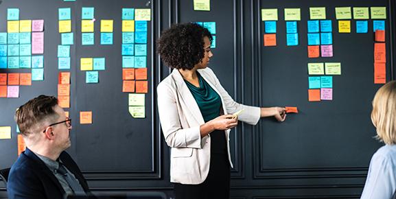 É recomendável dividir a gestão de projetos em 5 partes
