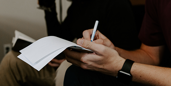 Anote os principais pontos abordados na reunião