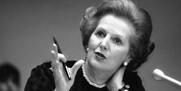 Margaret Thatcher é um dos exemplos de liderança