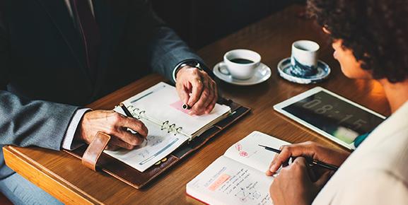 Reforçe com seus colaboradores o hábito de agendar compromissos