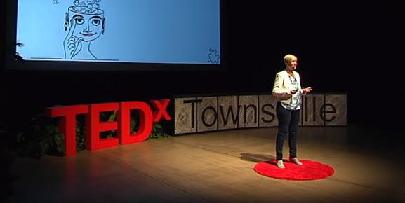 Andrea Jackson faz uma provocação em seu TedTalk