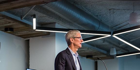 O sucessor de Steve Jobs, e hoje um dos maiores líderes mundiais, Tim Cook