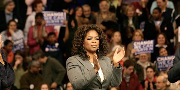 Oprah Winfrey é considerada um exemplo de liderança