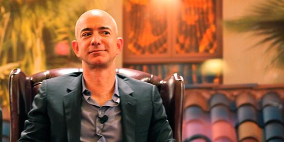 Jeff Bezos, dono da Amazon e um dos maiores líderes do mundo atualmente