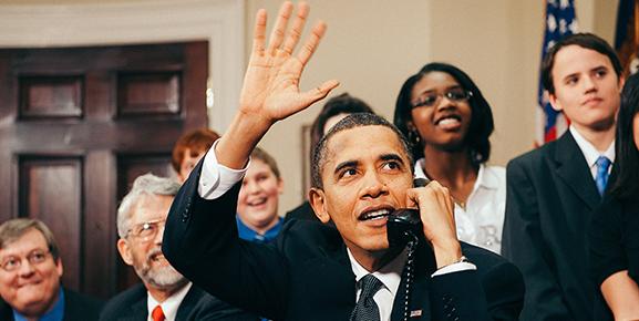 Barack Obama: um dos maiores líderes do mundo